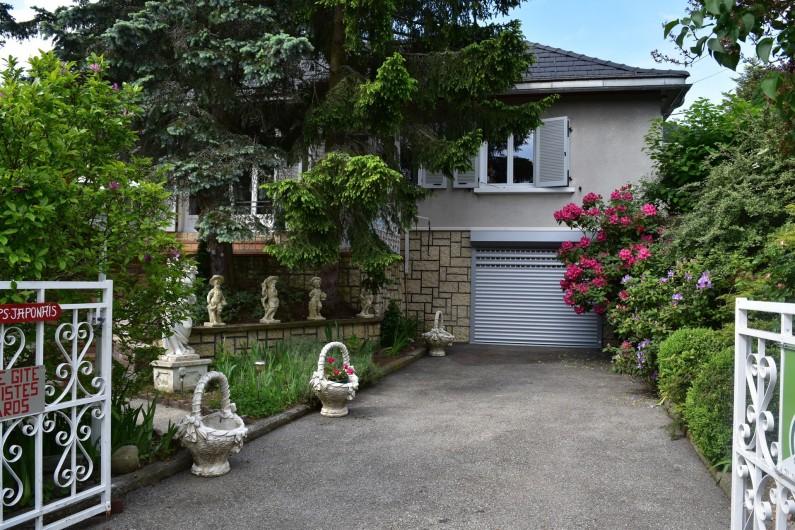 Location de vacances - Villa à Pierre-Châtel - Entrée du gîte