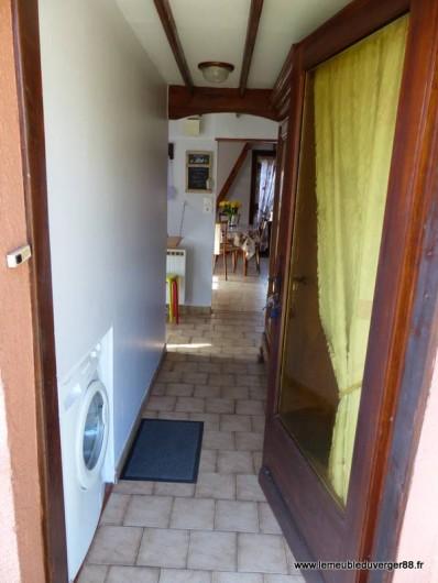Location de vacances - Gîte à Ramonchamp - L'entrée de notre gîte