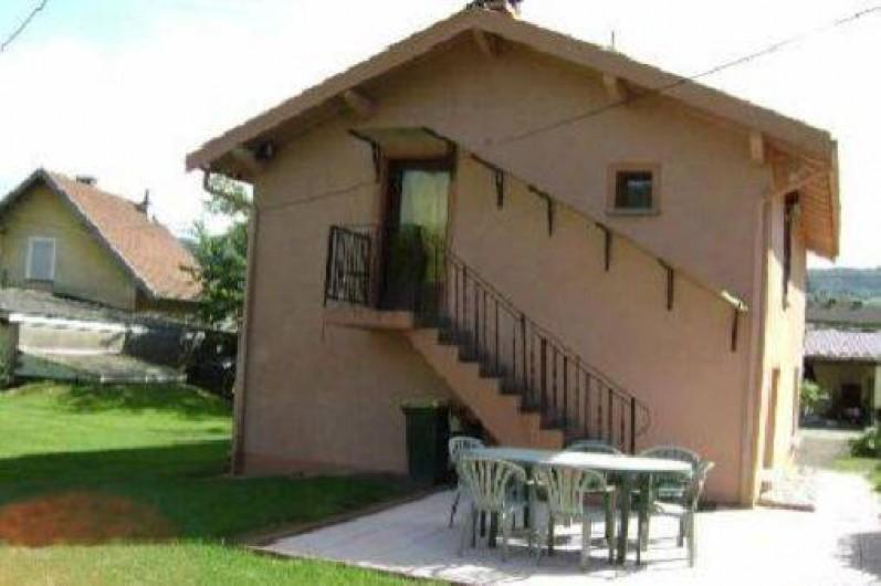 Location de vacances - Gîte à Ramonchamp - La terrasse