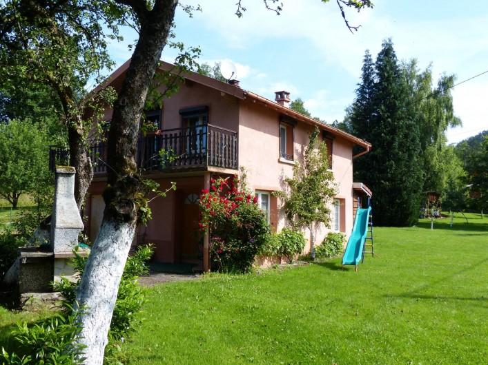 Location de vacances - Gîte à Ramonchamp - Le Meublé du Verger