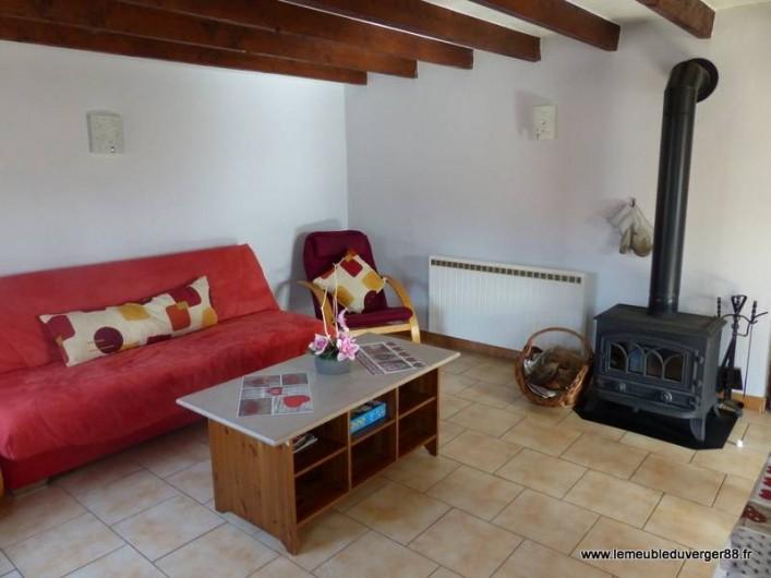 Location de vacances - Gîte à Ramonchamp - Le coin salon