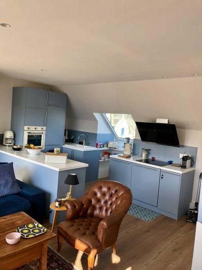 Location de vacances - Appartement à Wimereux - Notre cuisine ultra moderne et entièrement équipée