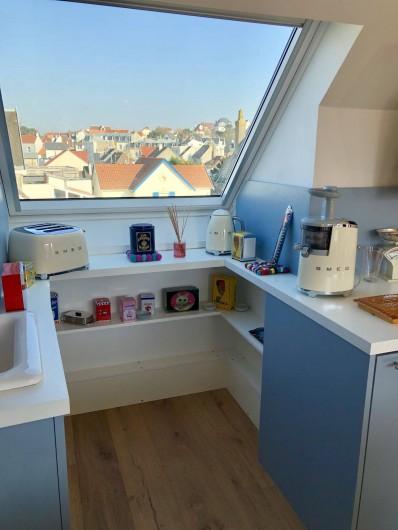 Location de vacances - Appartement à Wimereux - Notre cuisine