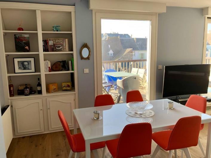 Location de vacances - Appartement à Wimereux - Vue SAM sur Terrasse