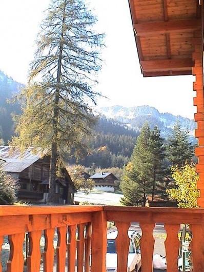 Location de vacances - Chalet à Châtel - vue arriere