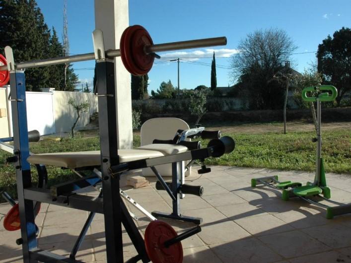 Location de vacances - Villa à Arles - Salle de sport
