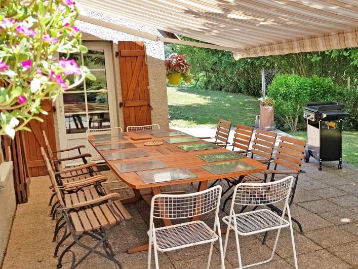 Location de vacances - Gîte à Sainte-Marie de Campan - le Pic du Midi de Bigorre vu du Carot