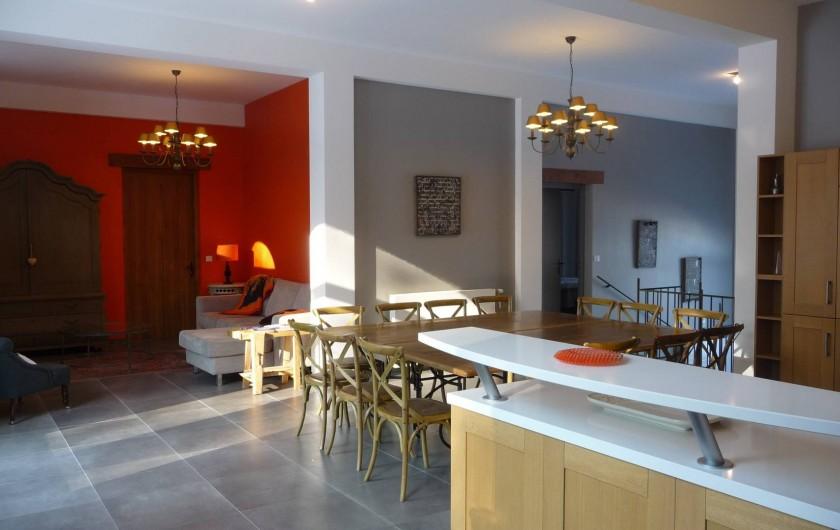 Location de vacances - Gîte à Saint-Jean-Saint-Germain - Espace à vivre du Gite
