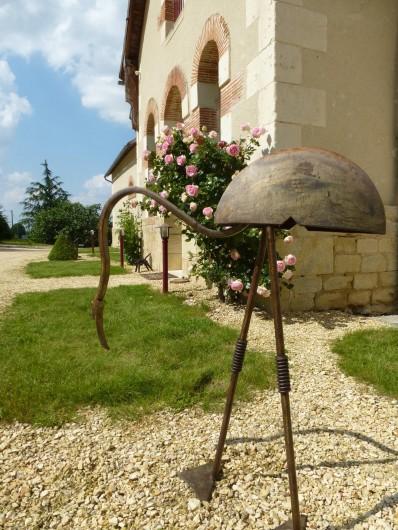 Location de vacances - Gîte à Saint-Jean-Saint-Germain - Surprises au jardin