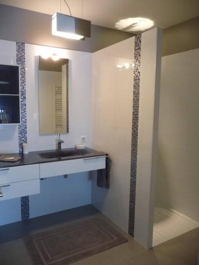 Location de vacances - Gîte à Saint-Jean-Saint-Germain - Salle de douche à l'italienne