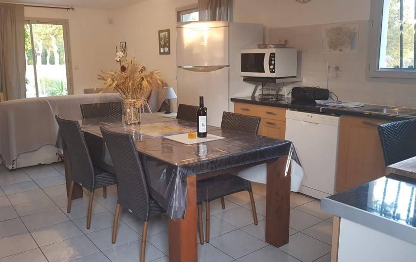 Location de vacances - Gîte à Rieux-en-Val - Cuisine toute équipée du gite grenache
