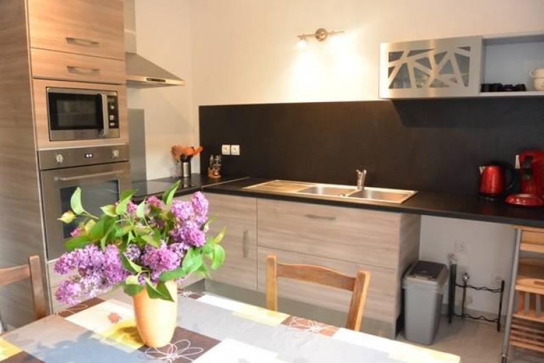 Location de vacances - Appartement à Kaysersberg - belle cuisine aménagée