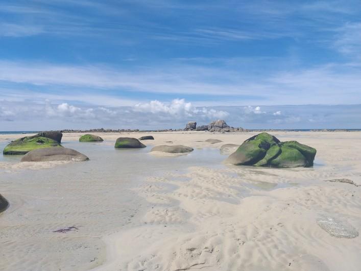 Location de vacances - Villa à Cléder - plage des Amiets