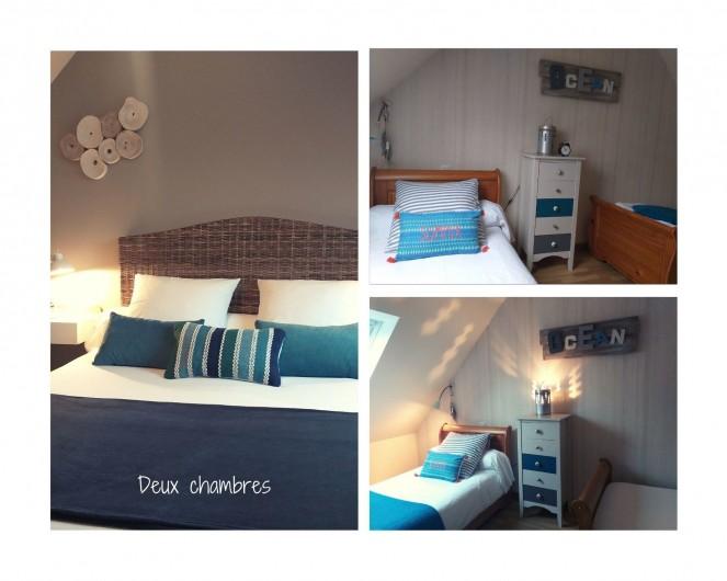 Location de vacances - Villa à Cléder - les 2 chambres