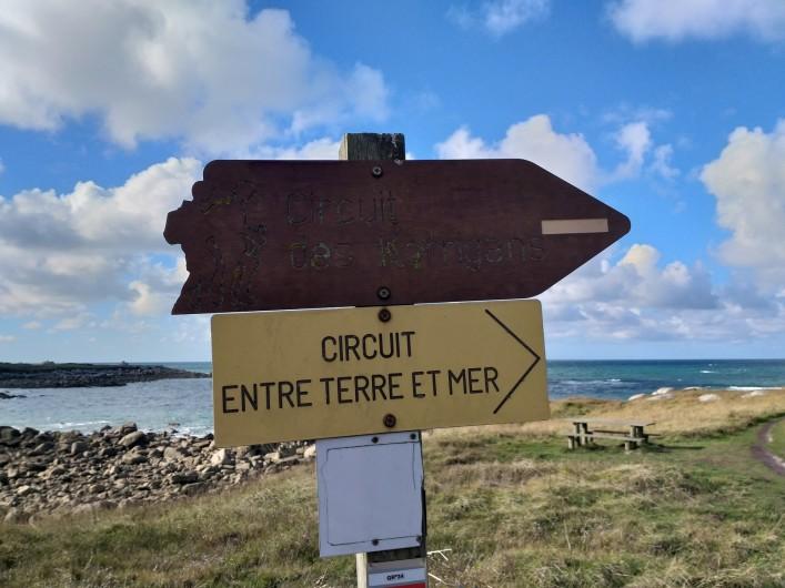 Location de vacances - Villa à Cléder - Sentiers de randonnées (GR34)