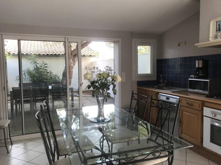 Location de vacances - Villa à Châtelaillon-Plage - Equipement pour 8/10 personnes, selon meublé classé 4 étoiles en préfecture