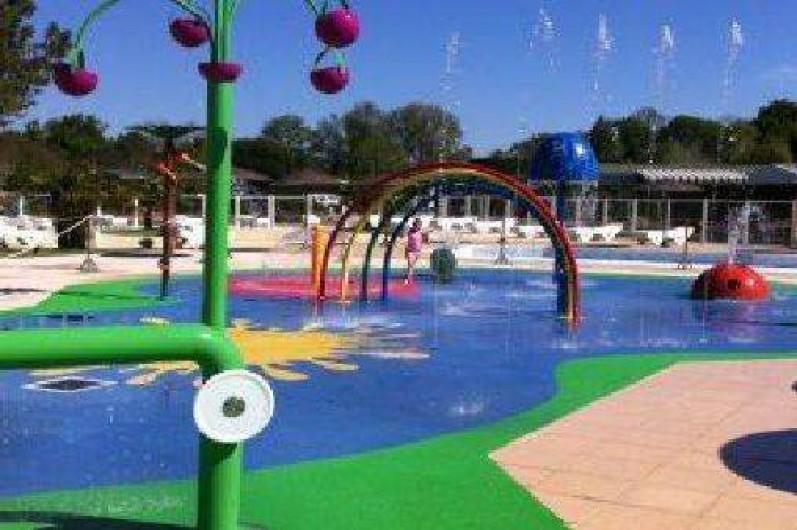 """Location de vacances - Camping à La Palmyre - La """"Splash zone"""" pour le plaisirs des bambins"""