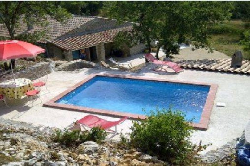 Location maison chom rac en ard che rh ne alpes avec for Location vacances rhone alpes avec piscine