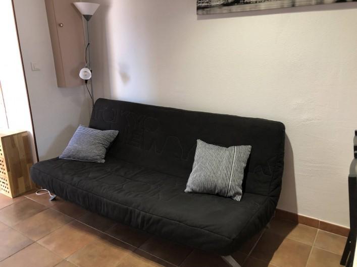 Location de vacances - Maison - Villa à Propriano - CANAPE COIN TELEVISION