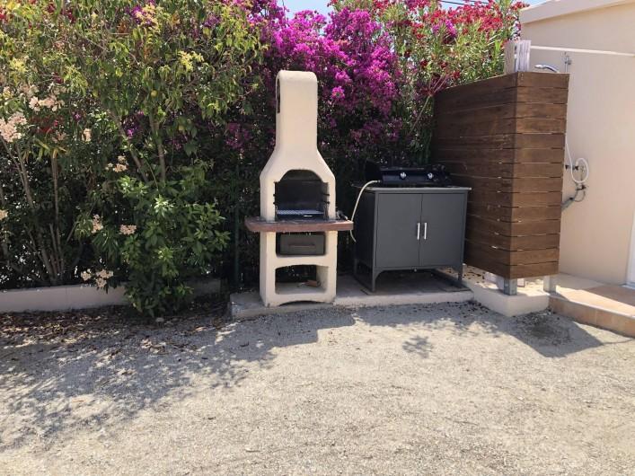 Location de vacances - Maison - Villa à Propriano - BARBECUE - PLANCHA  ET DOUCHE EXTERIEURE