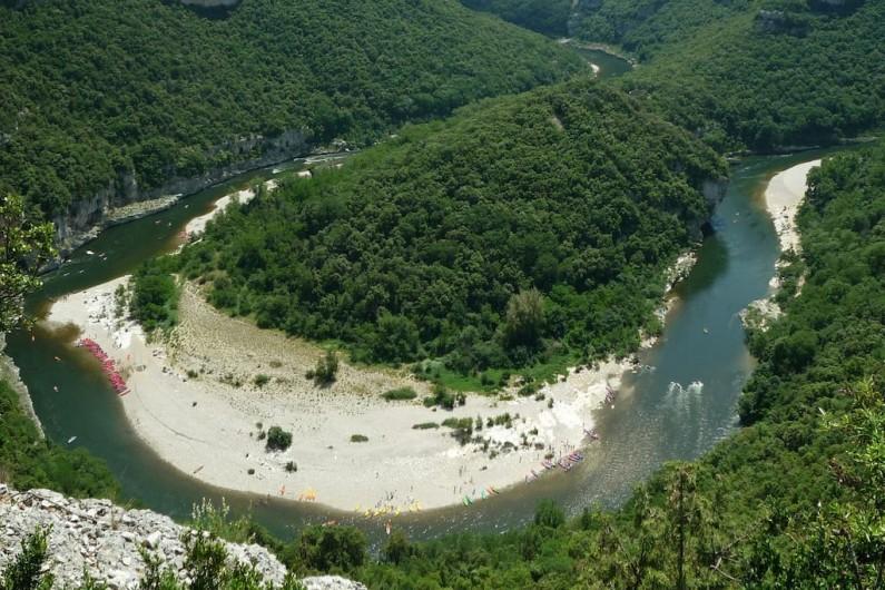Location de vacances - Villa à Les Salelles - rivière à proximité
