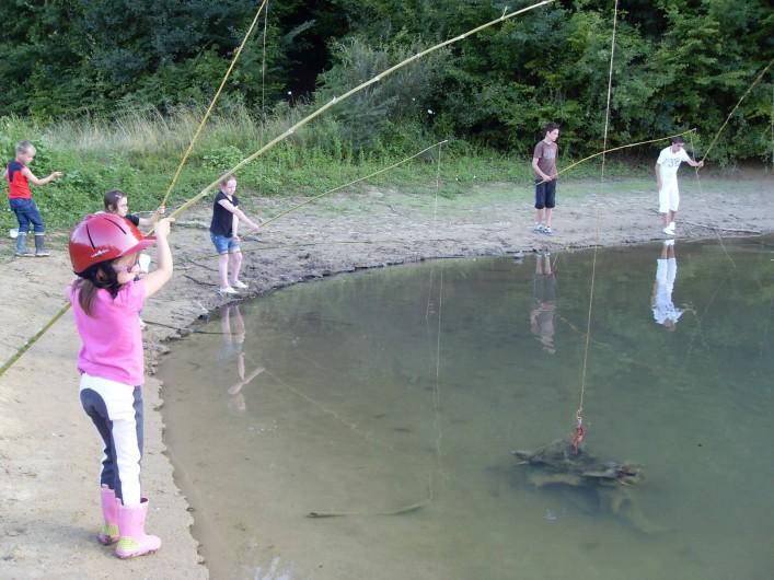 Location de vacances - Gîte à Brugnac - pèche aux écrevisses à 5mn à pied