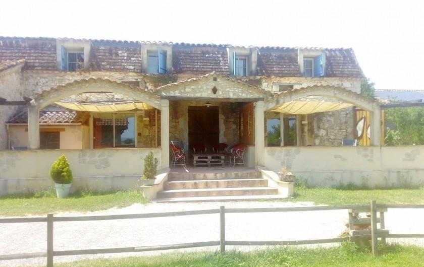 Location de vacances - Gîte à Brugnac - Gîtes Appollo et Pompon