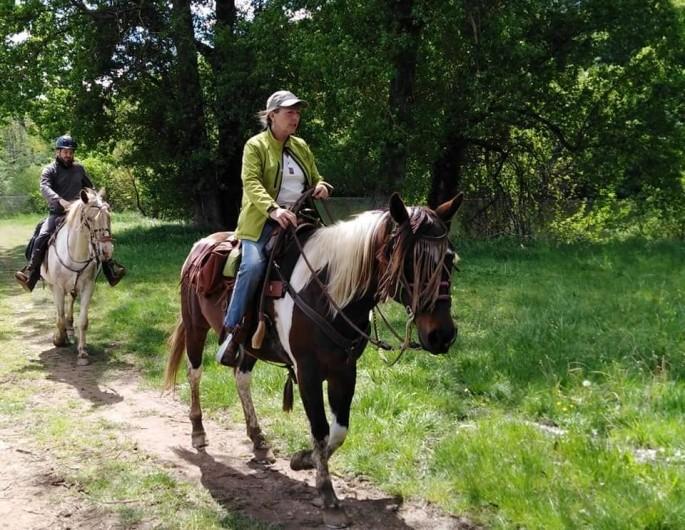 Location de vacances - Gîte à Brugnac - Ranch equestre sur place