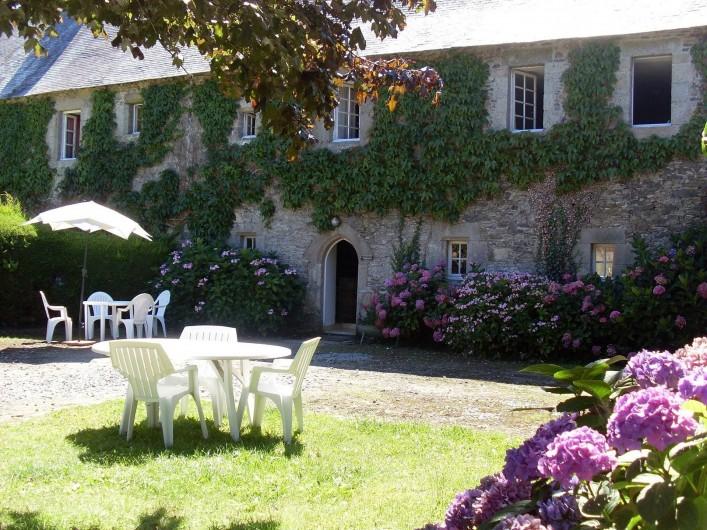 Location de vacances - Château - Manoir à Tréguier - le gite de manercoz de Kerhir pour 6p
