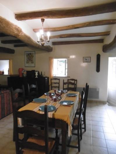 Location de vacances - Château - Manoir à Tréguier - salle a manger