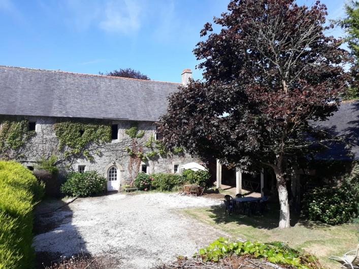 Location de vacances - Château - Manoir à Tréguier - facade manercoz