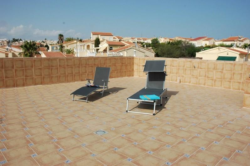 Location de vacances - Appartement à San Fulgencio - Terrasse sur le toit
