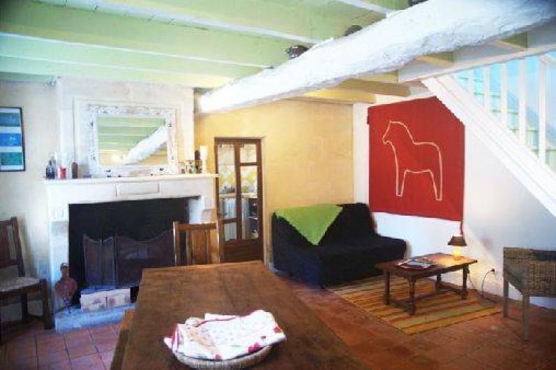 Location de vacances - Gîte à Guitres - Pièce a vivre Gite Gabarre