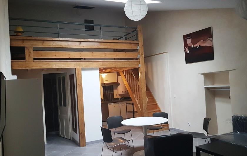 Location de vacances - Appartement à Charleval - Mezzanine