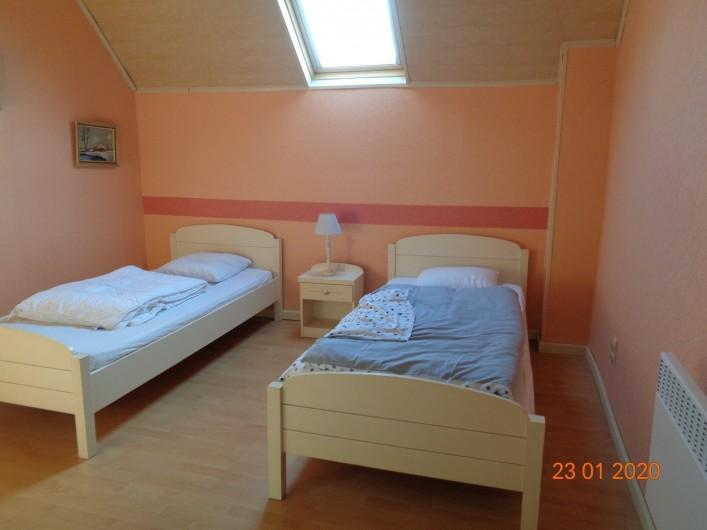 Location de vacances - Gîte à Houthem - chambre3 à l'étage