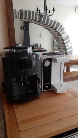 Location de vacances - Gîte à Brioude - machine à café et à eau chaude