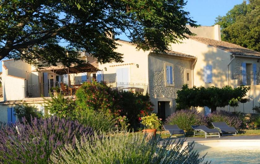 Location de vacances - Gîte à Cairanne - Les Romarins mas vigneron