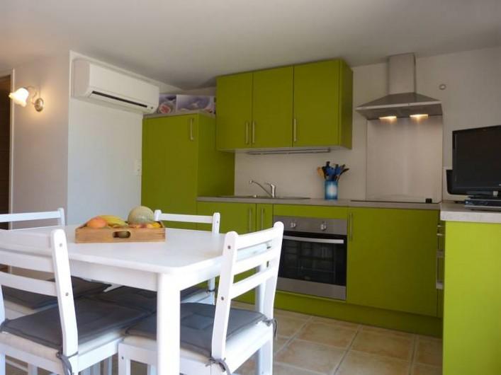 Location de vacances - Gîte à Cairanne - Gîte Le Figuier, salle à manger