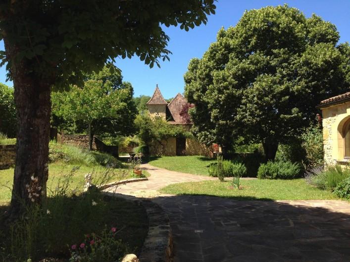 Location de vacances - Gîte à Saint-Cybranet - vue est