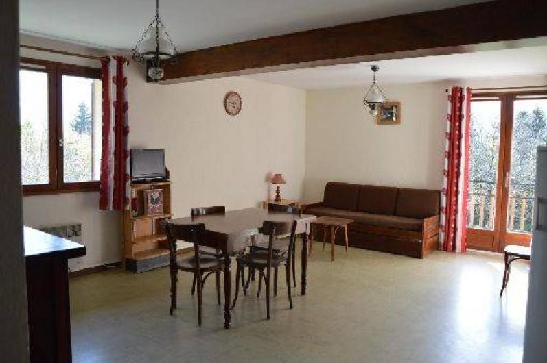 Location de vacances - Chalet à Crest-Voland - Appartement le Fayard séjour