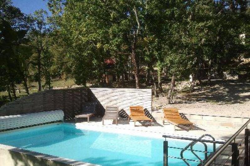 Maison A Luzech Dans Le Lot En Bois Moderne Avec Terrasse Dans Les