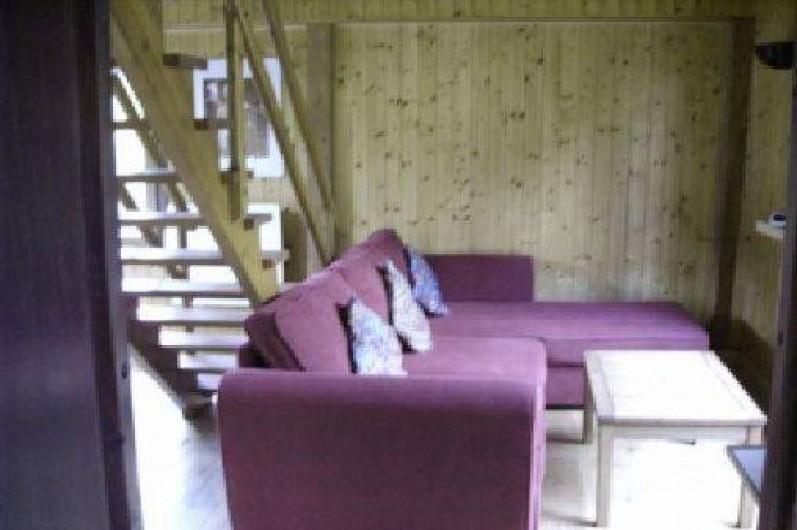 Location de vacances - Chalet à Taninges - salon