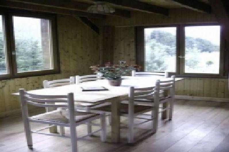 Location de vacances - Chalet à Taninges - coin repas