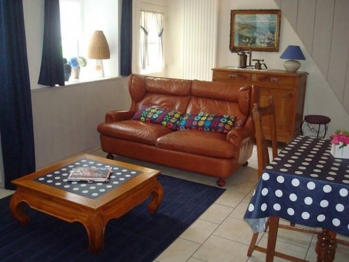 Location de vacances - Gîte à Melgven - Le coin salon