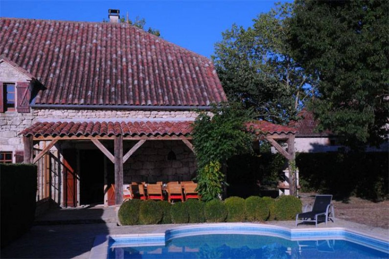 Location de vacances - Villa à Sainte-Juliette - La Borde-Basse Sud