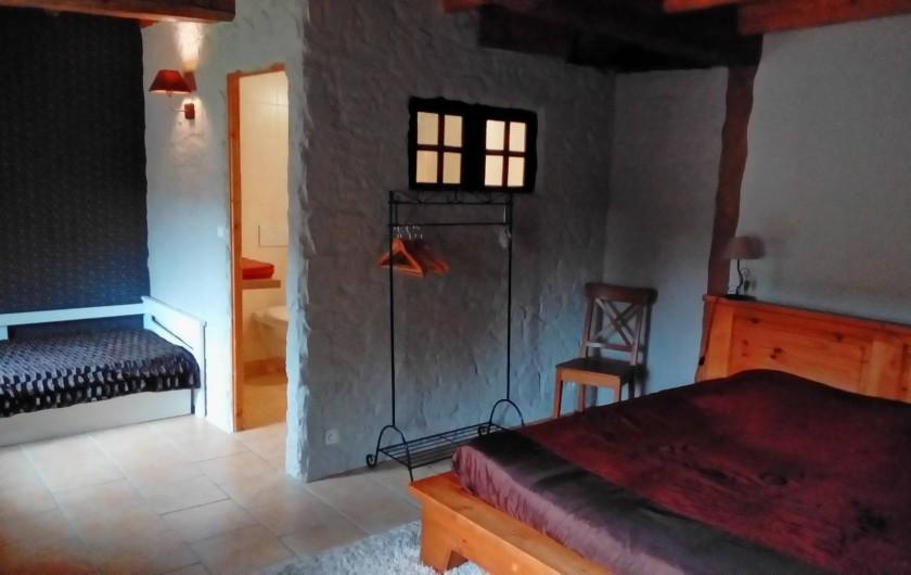 Location de vacances - Maison - Villa à Beaujeu-Saint-Vallier-Pierrejux-et-Quitteur - Chambre N°4