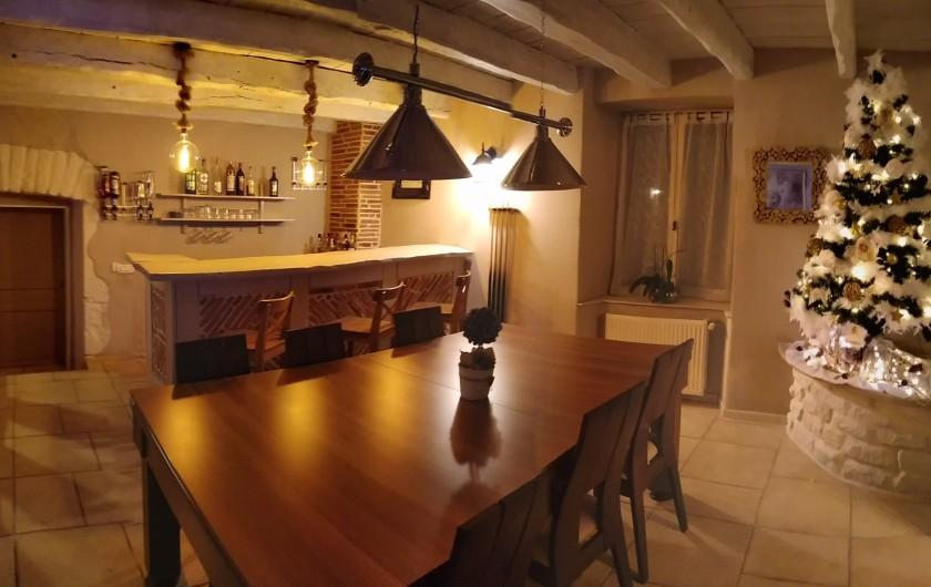 Location de vacances - Maison - Villa à Beaujeu-Saint-Vallier-Pierrejux-et-Quitteur - Coin bar