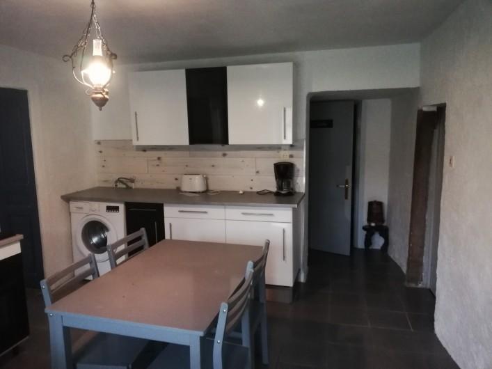Location de vacances - Appartement à Herpelmont - Cuisine