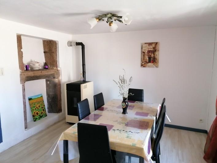 Location de vacances - Appartement à Herpelmont - Salle à manger