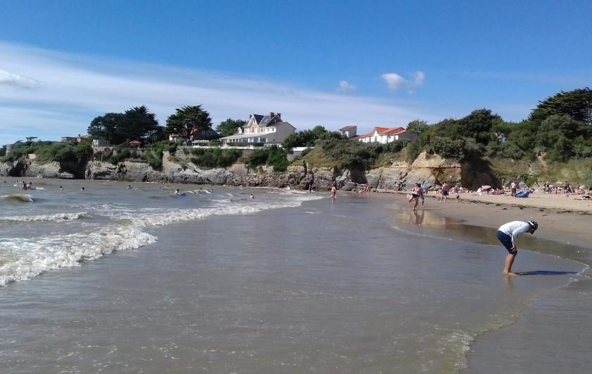 Location de vacances - Appartement à La Bernerie-en-Retz - Vue de la plage